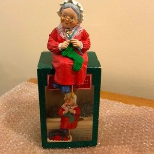 Hallmark MIB holiday stocking hanger